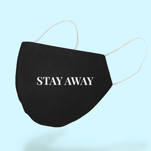 Masca Textila Personalizata cu Stay Away, 02