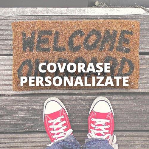 Covoras intrare personalizat