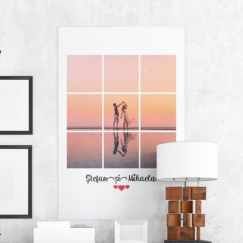 Tablou canvas personaliza cu o poza, 50x70cm, CNV05