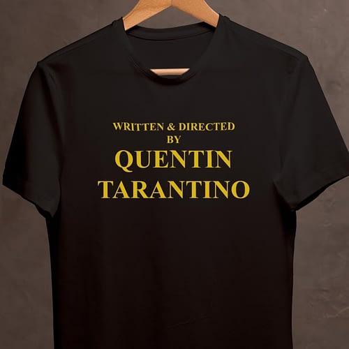 tricou unisex personalizat cu quentin tarantino, 03