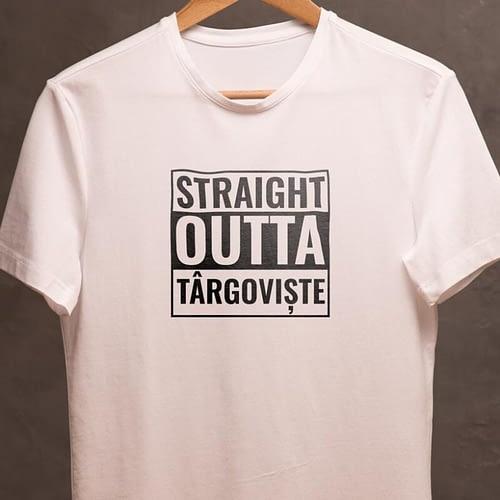 tricou personalizat cu stright outta, 02