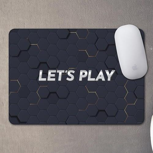 Mouse pad personalizat cu text si fundal de gaming, 03