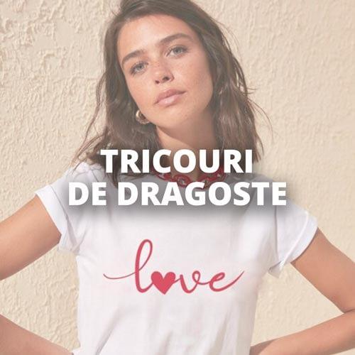 Tricouri de Dragoste Personalizate