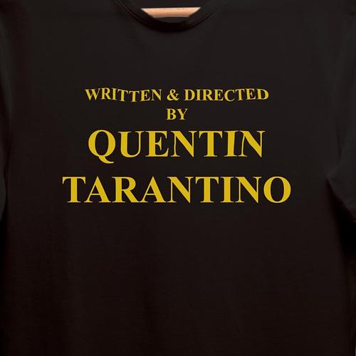 tricou unisex personalizat cu quentin tarantino, 04