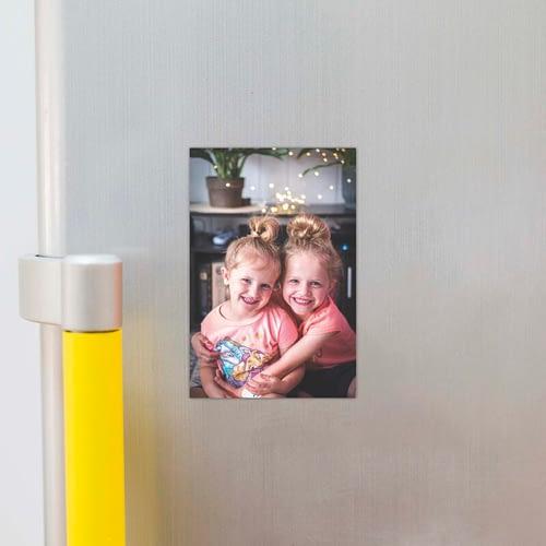Magnet foto personalizat cu o poza, 10x15, 02