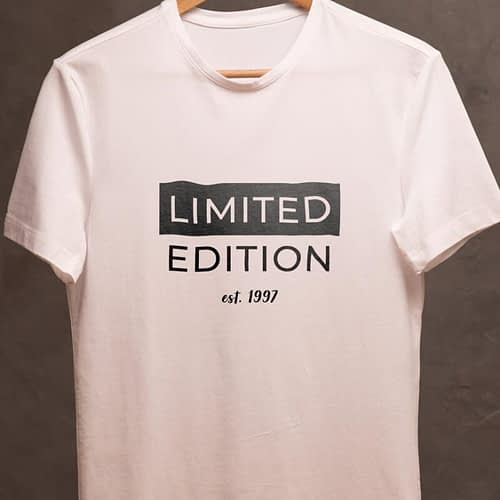 tricou personalizat cu text limited edition, 02
