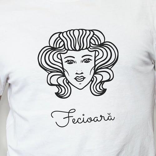 Tricou personalizat cu ilustratie zodie fecioara, 02