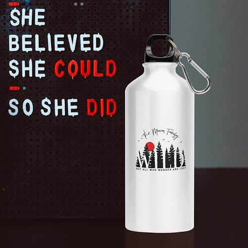 Bidon Sport Personalizat Not all those who wonder are lost, 02