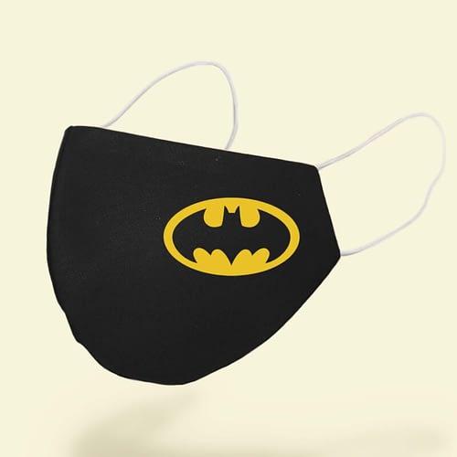 Masca textila Personalizata cu simbolul lui batman, 02