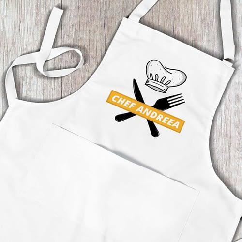 Sort personalizat cu Chef si nume la alegere 03