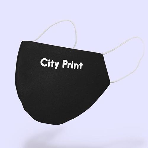 Masca Textila Personalizata cu logo City Print, 02