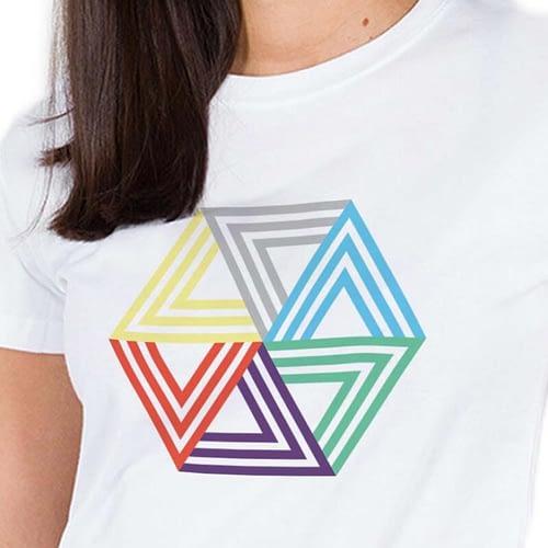Tricou Hexagon 03