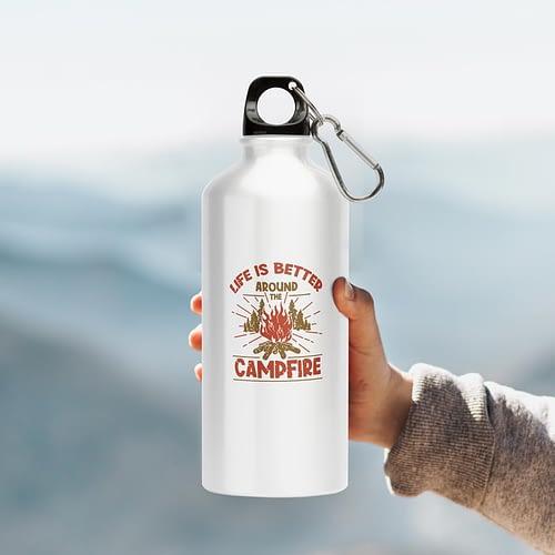 Bidon Sport Personalizat cu Campfire, reutilizabil si rezistent, 02