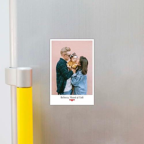 Magnet foto personalizat cu poza si text, 10x15 02