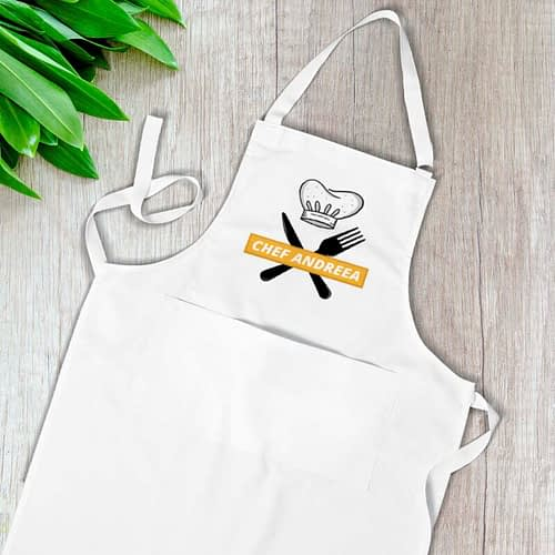 Sort personalizat cu Chef si nume la alegere 02