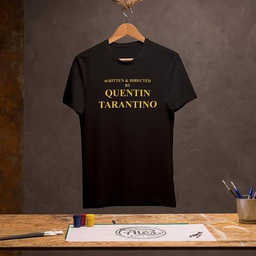 tricou unisex personalizat cu quentin tarantino, 02
