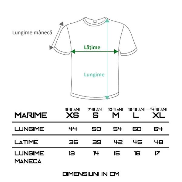 tricou-keya-copii-alb-bumbac-100