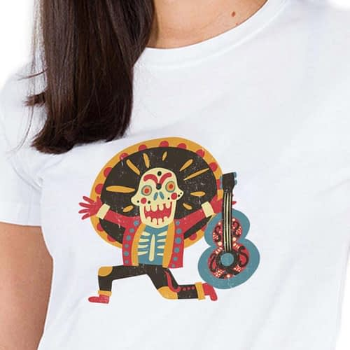 Tricou Day of the dead 03