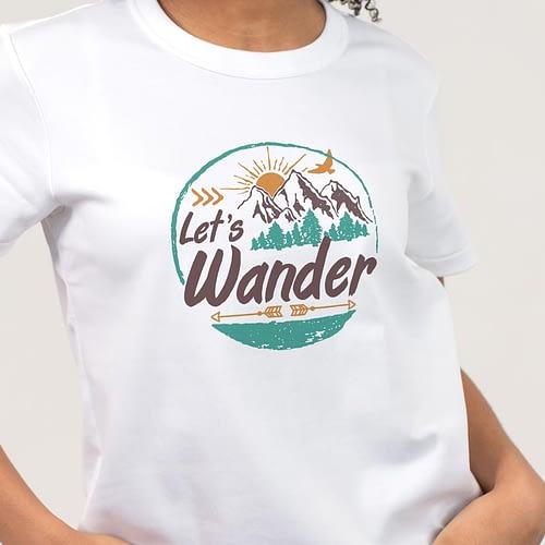 Tricou Personalizat cu text, let's wonder, 01