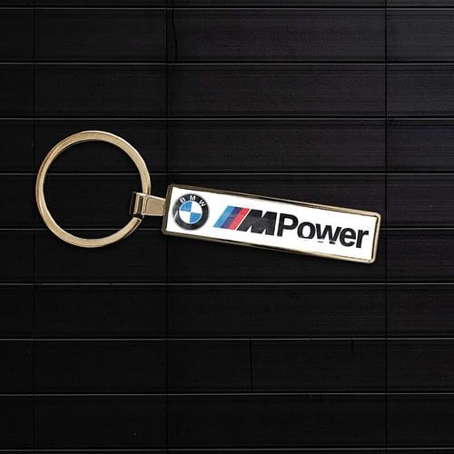 Breloc auto personaliza cu bmw, m power 02