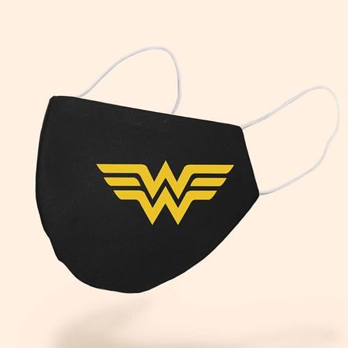 Masca textila Personalizata cu simbolul Wonder Woman, 02