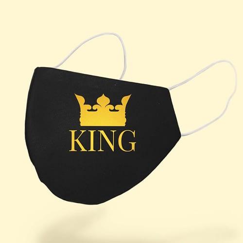 Masca textila personalizata, King, 02