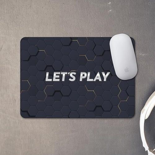 Mouse pad personalizat cu text si fundal de gaming, 02