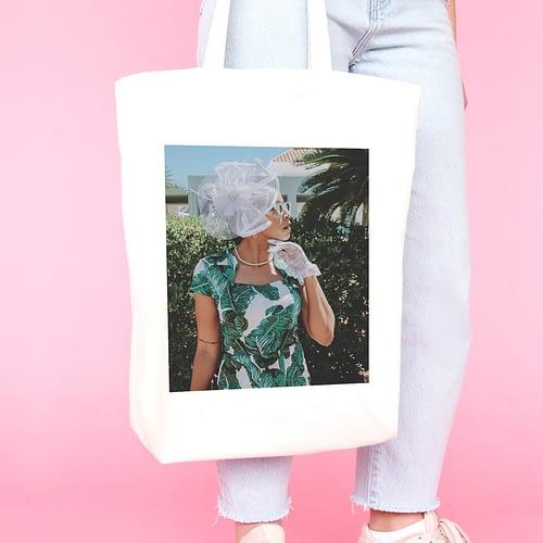 Sacosa textila personalizata cu poza, 02