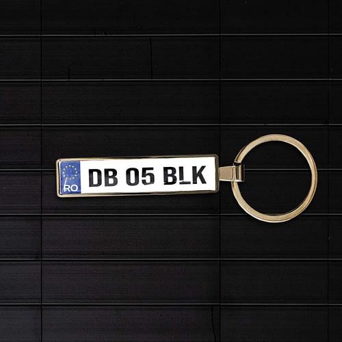 Breloc auto personaliza cu logo skoda rs 03