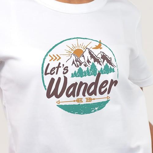Tricou Personalizat cu text, let's wonder, 02
