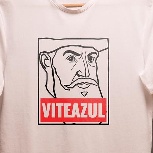 tricou unisex personalizat cu ilustratie mihai viteazul, 03